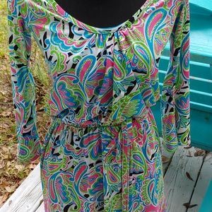 Mudpie Paisley print mini dress